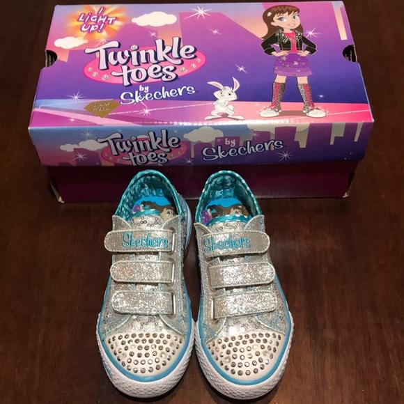 skechers twinkle toes size 10.5
